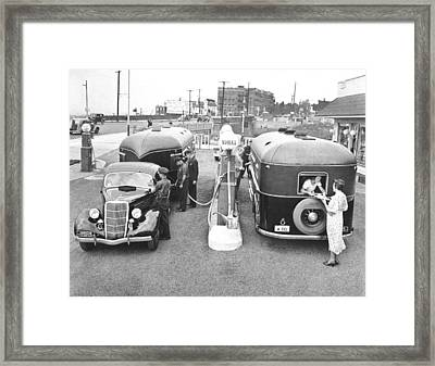 Curtis Aerocars Framed Print by Underwood Archives