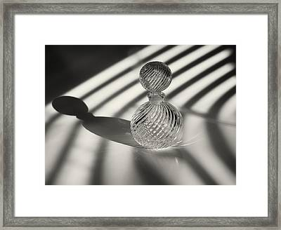 Curvatures 3...shadows Framed Print by Tom Druin