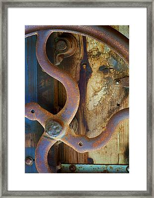 Curves And Lines II Framed Print by Stephen Anderson
