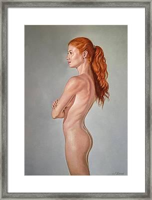 Curves Framed Print by Paul Krapf