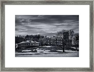 Cushing Acadamy Framed Print by Sue OConnor