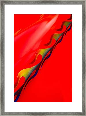 Custom Flame Framed Print by Phil 'motography' Clark