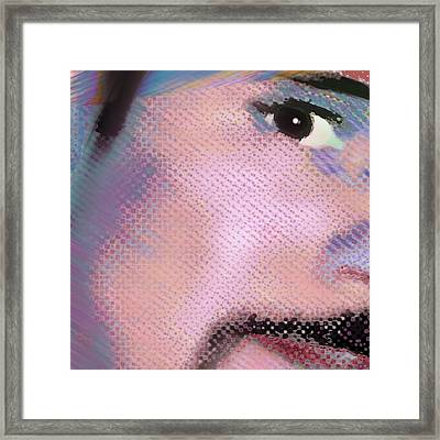 Custom Portrait Family 1 Adult Son 1 Framed Print by Tony Rubino