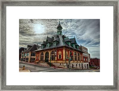 Customs House Museum Framed Print by Dan McManus