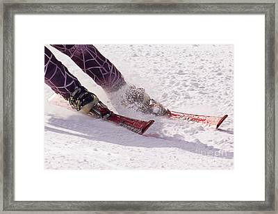 Cutting Edge Framed Print by Bob Hislop