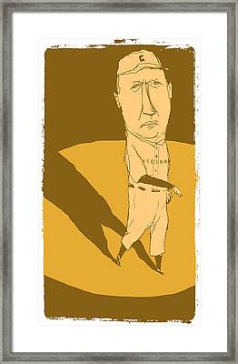 Cy Young Framed Print by Jay Perkins