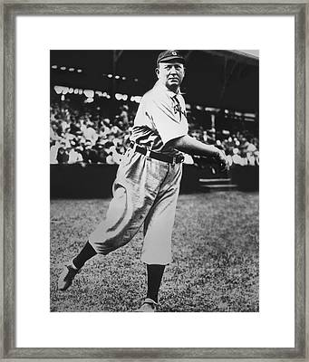 Cy Young Framed Print by Retro Images Archive