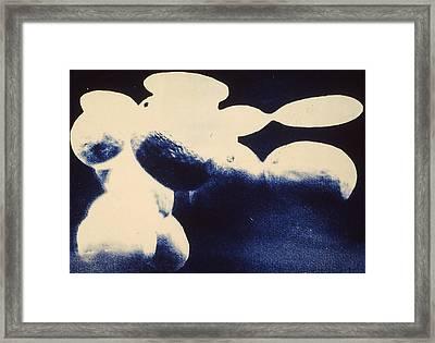 Cyanotype Framed Print by Jeremy Johnson