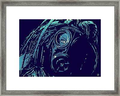 Cyber Punk Framed Print by Giuseppe Cristiano