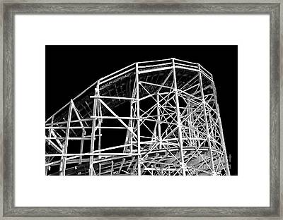 Cyclone Framed Print by John Rizzuto