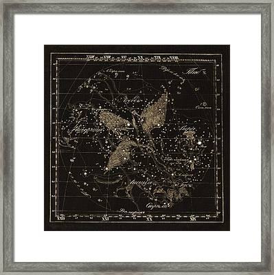 Cygnus Constellations, 1829 Framed Print by Science Photo Library
