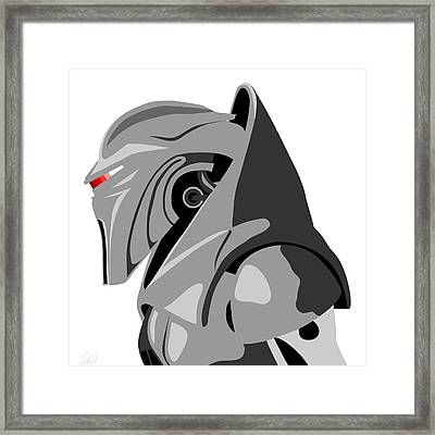 Cylon Framed Print by Paul Dunkel