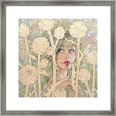 Cynara Framed Print by Fay Helfer