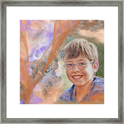 Cyp Framed Print by Danielle Arnal