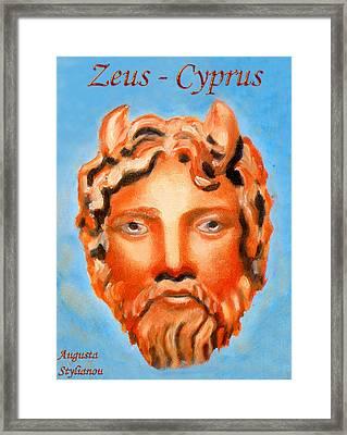 Cyprus - Zeus Framed Print by Augusta Stylianou