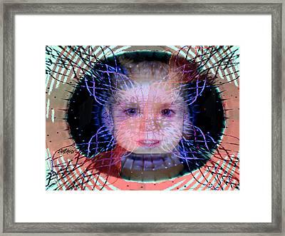 D N A Framed Print by Seth Weaver
