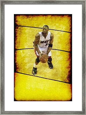 D Wade Framed Print by Joe Myeress