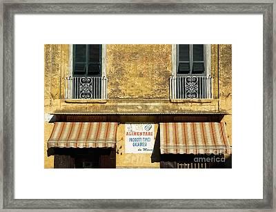 Da Marco Framed Print by Silvia Ganora