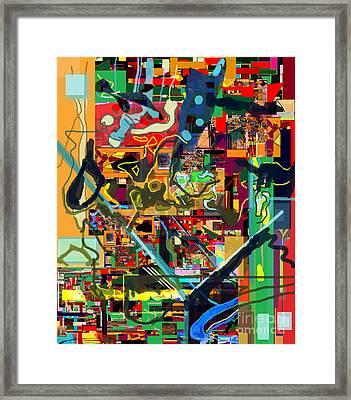 Daas 17e Framed Print by David Baruch Wolk