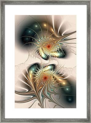 Daemons Within Framed Print by Anastasiya Malakhova