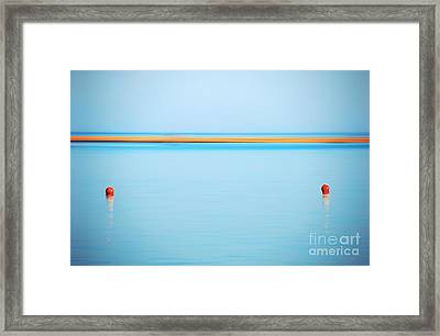 Dahab - Red Sea Framed Print by Hannes Cmarits