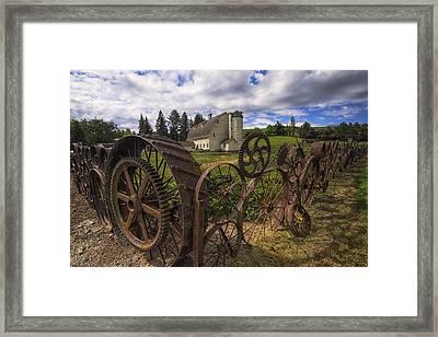 Dahmen Barn Framed Print by Mark Kiver