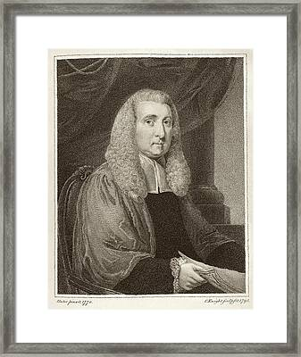Daines Barrington Framed Print by Middle Temple Library