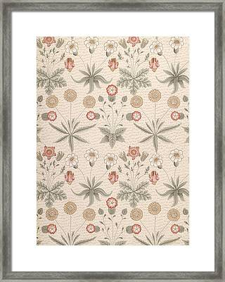 Daisy, First William Morris Design Framed Print by William Morris