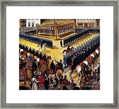 Dakota Uprising 1862 Framed Print by Granger