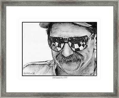 Dale Earnhardt Sr In 1995 Framed Print by J McCombie