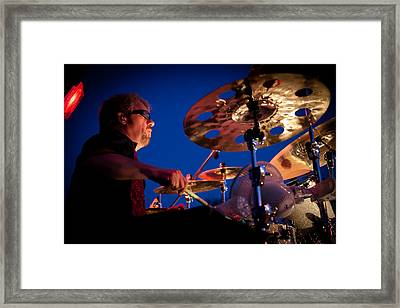Dale Keeney Of The Fabulous Kingpins Framed Print by David Patterson