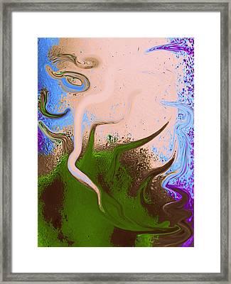 Dally With Dali Framed Print by Marcia Lee Jones