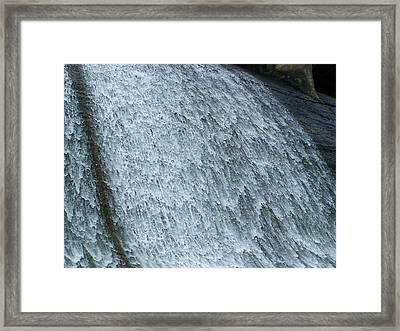 Dam Waterfall 3  Framed Print by Chris Flees