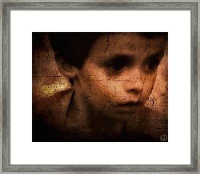 Damian Framed Print by Gun Legler
