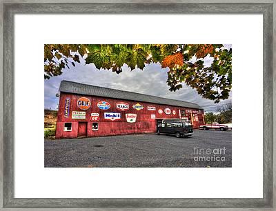 Dan S Antiques Building Framed Print by Dan Friend
