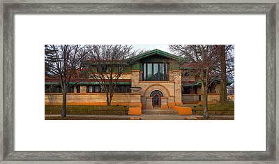 Dana Thomas House Springfield I L Framed Print by Steve Gadomski