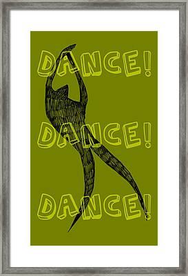 Dance Dance Dance Framed Print by Michelle Calkins