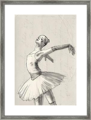 Dance Framed Print by H James Hoff