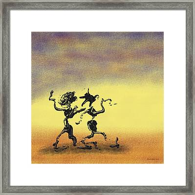 Dance I Framed Print by Manuel Sueess