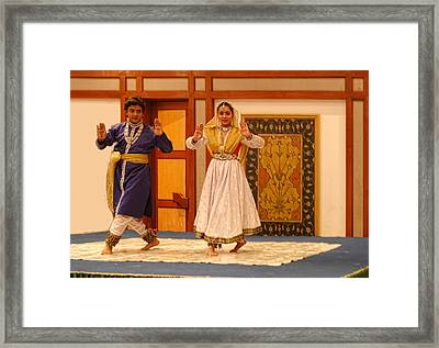 Dance In India Framed Print by Linda Phelps