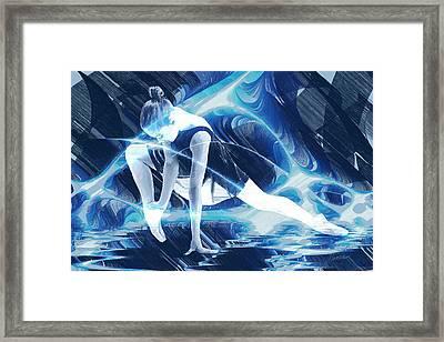 Dance Of Light Framed Print by Marina Likholat