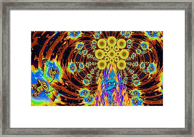 Dance Of Shiva Framed Print by Jason Saunders