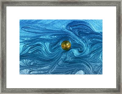 Dance Upon Cosmic Wind Framed Print by Chrystyne Novack
