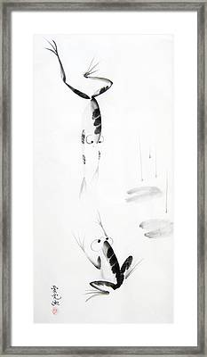 Dance With Me Framed Print by Oiyee At Oystudio