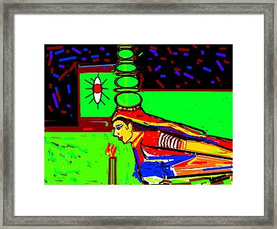 Dance With Pots-2 Framed Print by Anand Swaroop Manchiraju