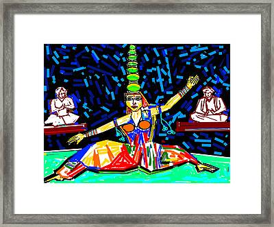 Dance With Pots Framed Print by Anand Swaroop Manchiraju