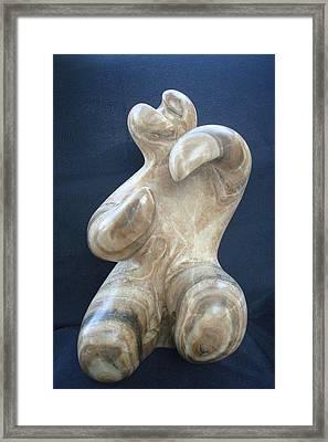 Dancer Framed Print by Marko Petrovic Njegos