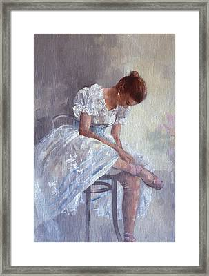 Dancer  Framed Print by Peter Miller
