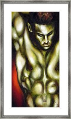 Dancer One Framed Print by Hiroko Sakai