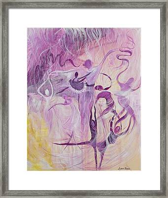 Dancers Framed Print by Susan Harris